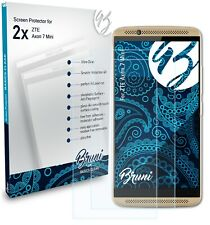 Bruni 2x Protective Film for ZTE Axon 7 Mini Screen Protector Screen Protection
