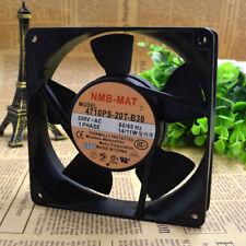 For NMB 4710PS-20T-B30 Aluminum frame AC Cooling fan AC200V 14/11w 120*120*25mm