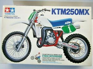 Tamiya Vintage 1:12 Scale KTM 250MX Motocrosser Model Kit # 1446*900 - New