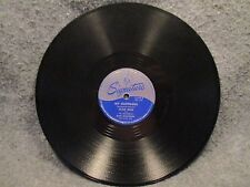 """78 RPM 10"""" Record Alan Dale Tea Leaves & My Happiness Signature Records 15206"""