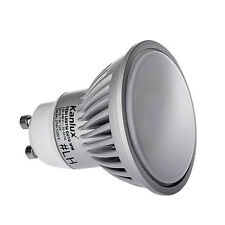 Lot de 10 Spot led ampoule GU10 7 watt 6000K de KANLUX super puissante 580 Lumen