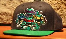 Nickelodeon TEENAGE MUTANT NINJA TURTLES Baseball Hat Ball Cap Snapback Black
