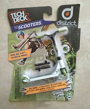 Tech Deck TD Finger Scooters district Freestyle Scooter - RARE