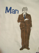 MAN OR ASTROMAN? Vintage T-shirt  The First Ever design  XL  90s  Used