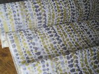 JOHN LEWIS FURNISHING FABRIC FOR CURTAINS CUSHION BLINDS - CITRUS, SILVER, GREY