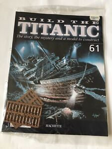 1/250 Hachette Build The Titanic Model Ship Issue 61 Inc Part Pictured.