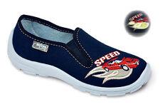Schmale Slipper Schuhe für Jungen