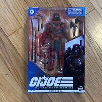 Hasbro 6 inch Red Ninja Action Figure GI Joe Classified 80