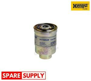 FUEL FILTER FOR DAF HONDA HYUNDAI HENGST FILTER H17WK09