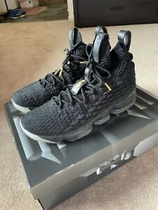 Nike Lebron XV Shoes In Original Box Size 11 1/2 Worn Twice!