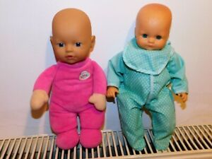 BABY DOLLS X 2 - SOFT BABY BORN DOLL & CITITOY SOFT BODY BABY DOLL