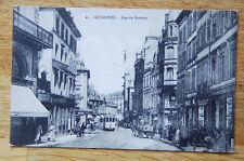 Antique 1910 1920s Mulhouse France Photo Postcard Post Card Vintage