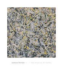 No. 4, 1949 by Jackson Pollock Art Print Abstract Yale University Gallery 28x26