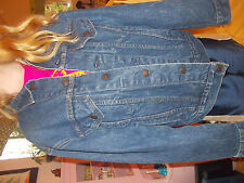 Vintage Levis Jean Jacket Two 2 Horse Mens Red Tab Canada 70506-0216