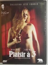 PLAISIR A TROIS - Franco DVD Arno Romay