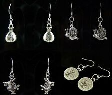 HOT NEW Wholesale Lady 4Pair/lot Charm Fashion Jewelry Silver Mix Stud Earrings