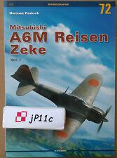 *Mitsubishi A6M Reisen Zeke vol. I - Kagero Monograph English *N*E*W*