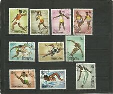 BURUNDI 1964 OLYMPICS GAMES  CTO CANCELLED TO ORDER MINT