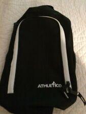Athletico Golf Shoe Bag - Zipper Ventilated Shoe Bag w/ Zipper Side Pockets
