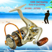 10BB Left / Right Interchangeable Collapsible Handle Fishing Spinning Reel 5.5:1