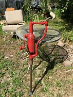 VTG Hand Crank Oil Pump Can Bottle Filler Gas Station, garage, Farm