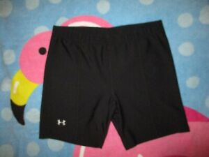 UNDER ARMOUR BLACK WOMENS SHORTS SIZE M