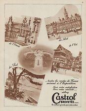 Y9343 Lubrificante CASTROL - Immagini - Pubblicità d'epoca - 1937 Old advert