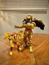 "Power Rangers 1993/94 Evil Space Aliens Action Figures - 8"" Goldar / Grumble Bee"
