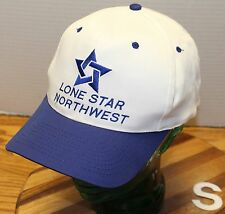 LONE STAR NORTHWEST CONSTRUCTION SUPPLY COMPANY SEATTLE SNAPBACK VGC WHITE/BLUE