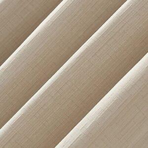 Curtain Panel 63x52 -SUN ZERO Galvin Single Thermal 100% Blackout Grommet Cream