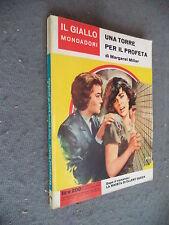 GIALLO MONDADORI #  772 - MARGARET MILLAR - UNA TORRE PER IL PROFETA