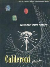 Gioielli Calderoni - Splendori della natura - 1960