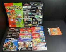 Game Boy Advance Pokemon FireRed Version Instruction Manual Booklet Only