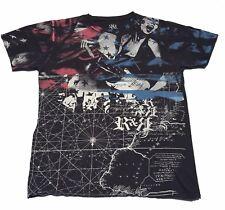 ROCK & REPUBLIC Guitar Rocker Girl T Shirt MENS L Black 100% Cotton