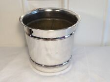 Vintage Silver Plate ICE BUCKET/WINE COOLER