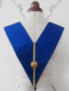 BNWOT Vintage 1990's Masonic Regalia Craft Grand Officer Undress Collar Sash