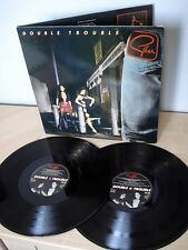 Gillan Double Trouble UK 2 x LP Deep Purple Virgin VGD 3506 1981 EX/EX