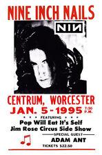 Nine Inch Nails Poster, NIN, Trent Reznor