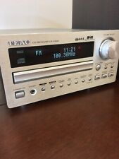 Teac CR-H240 Micro Hi-Fi AM/FM/DAB Radio CD Player & Speakers. No Reserve !