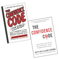 Katty Kay Collection 2 Books Set Confidence Code:The Science and Art,for Girls