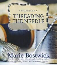 The Cobbled Court: Threading the Needle by Marie Bostwick (2012, CD, Unabridged)
