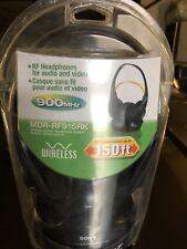 Sony Wireless head phones MDR-RF915RK