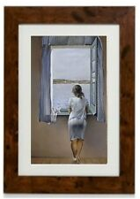Salvador DaliFramed Print 'Person at the Window'