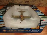 1/48 FRANKLIN MINT ARMOUR P-40N WARHAWK ARMY PILOT CLASS 43-K 1943 PLANE B11E377