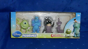 NEW Disney Monsters Inc Figurines Classic Characters Mike Boo Randal Sulley