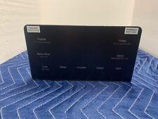 GE Refrigerator Black Slate Control Display OEM WR55X30291