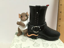 "Nib Fitz and Floyd Charming Tails ""Soul of a Rebel"" Motorcycle Boot #89/233"