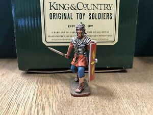 King & Country:  Boxed Roman Infantryman. 54mm Solid Metal Figure