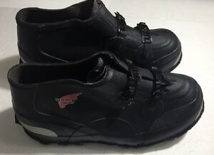 MENS ~Red Wing Shoes Industrial Rubber Over Shoes Rain Wear Size 6, euc womens 8