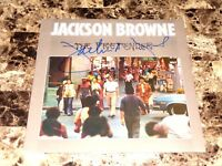 Jackson Browne Rare Signed Autographed Vinyl LP Record The Pretender + COA Photo